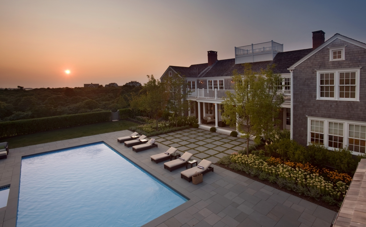 Nantucket Pool Sunset Opt