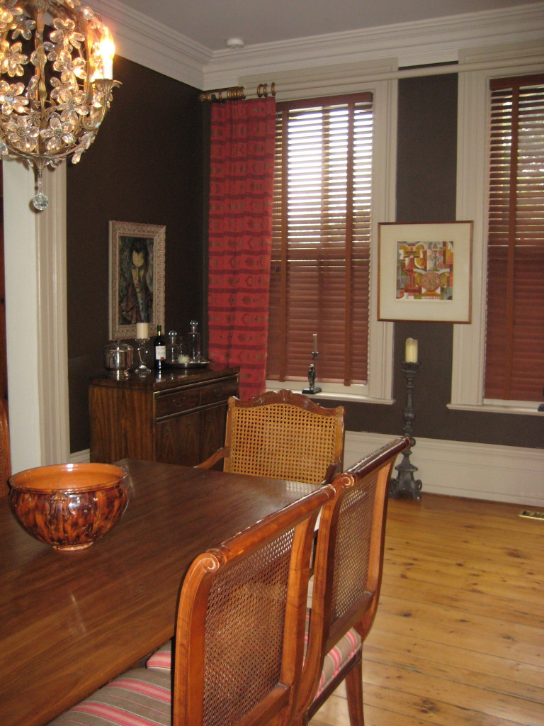1870's Century Home Dining Room