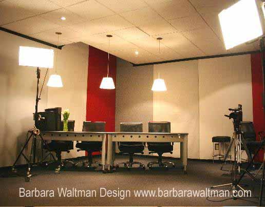 Television Casting Studio - Casting Room